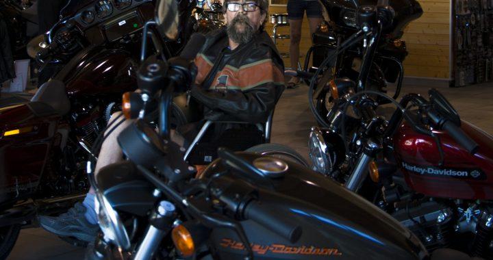 9. focení – Harley Davidson